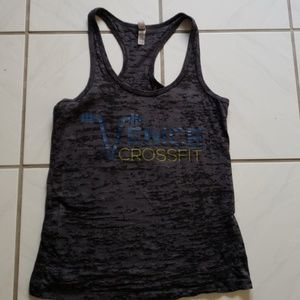 Unique women's Venice crossfit tank top